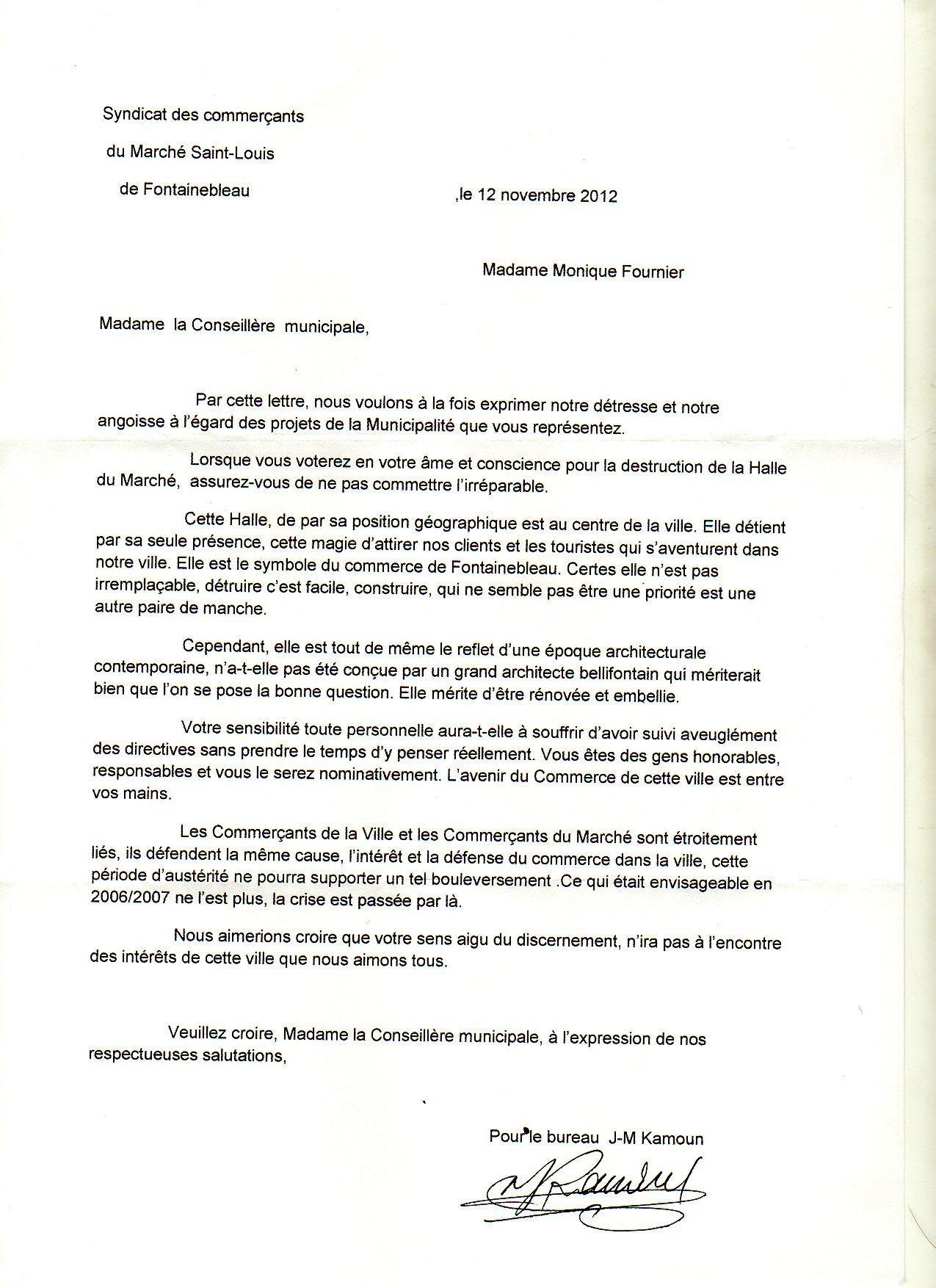 lettre de motivation pour responsable commercial