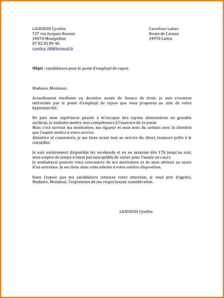 lettre de motivation employ u00e9 de restauration collective d u00e9butant