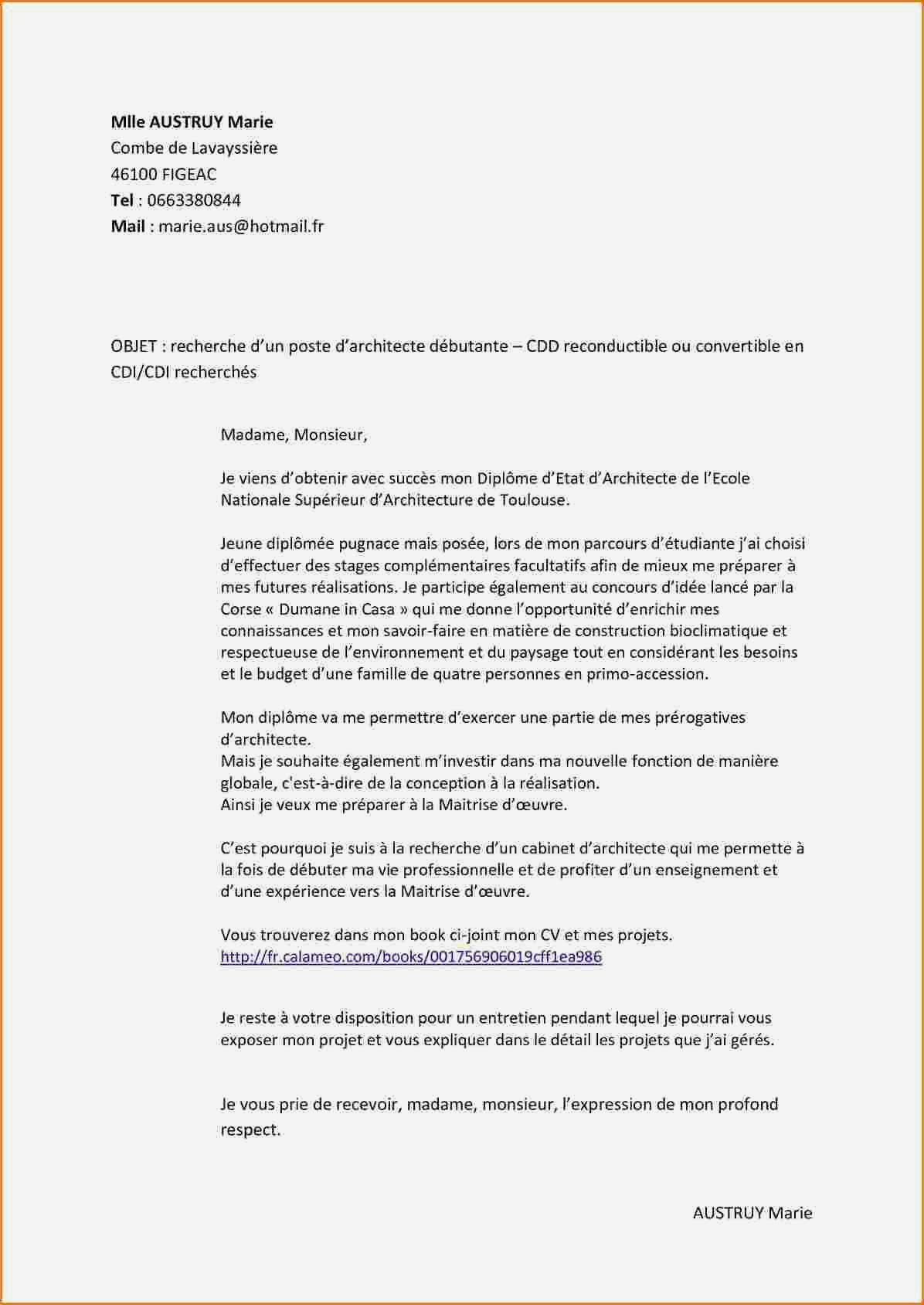 lettre de motivation 3eme en anglais