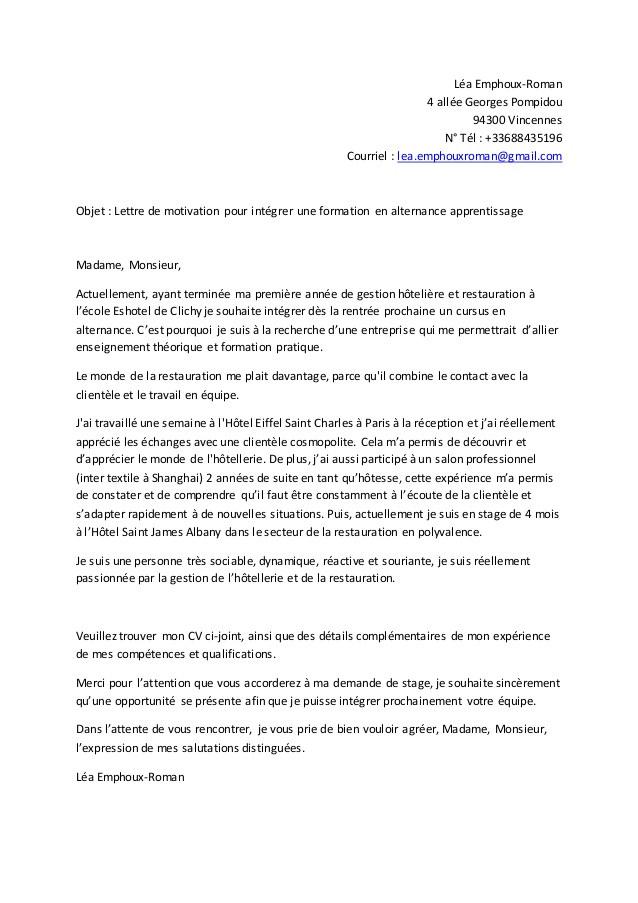 lettre de motivation pour reconversion fongecif