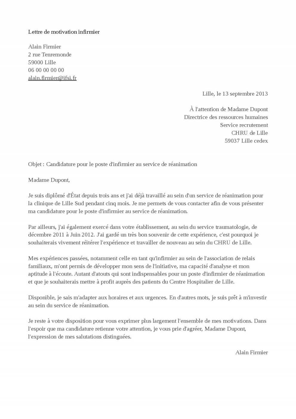 lettre de motivation formation assistant commercial