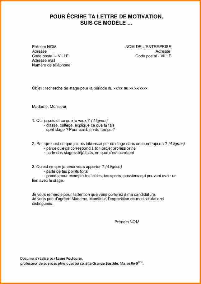 lettre de motivation formation caferuis