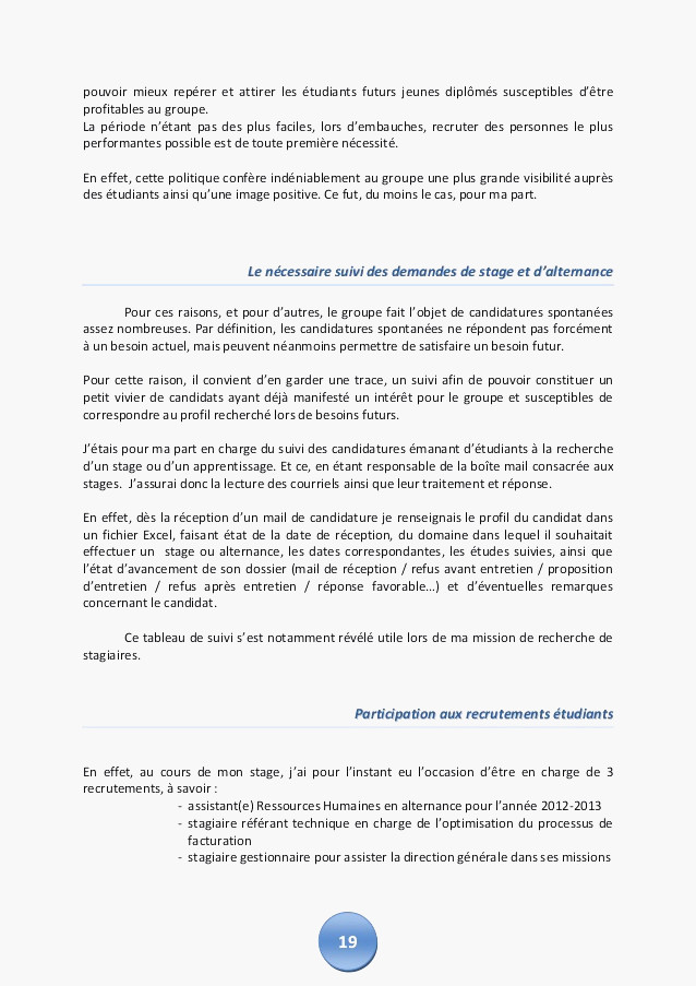 dossier candidature afpa
