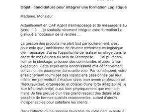 Exemple de lettre de motivation pour une formation afpa - laboite-cv.fr