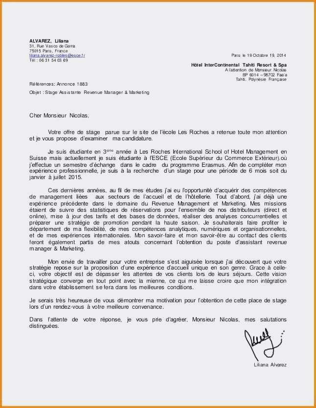 lettre de motivation gardien d immeuble avec experience