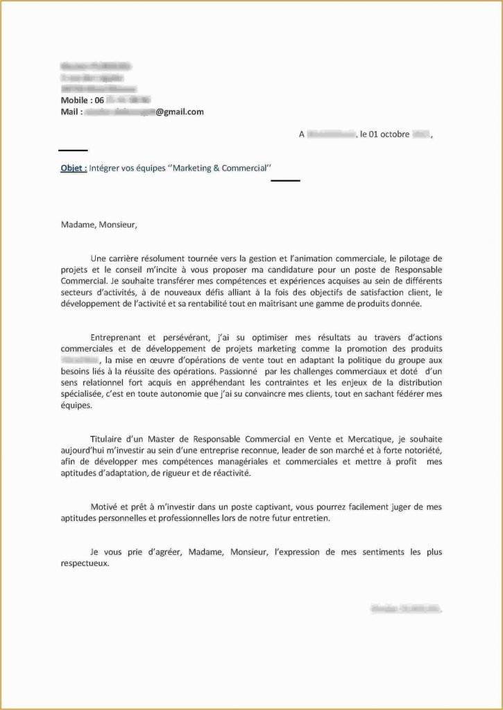 lettre de motivation hotesse de caisse sans experience