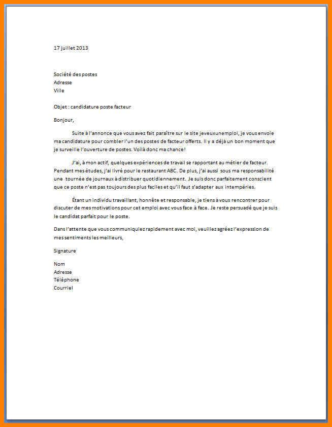 Model lettre de motivation hotesse de caisse