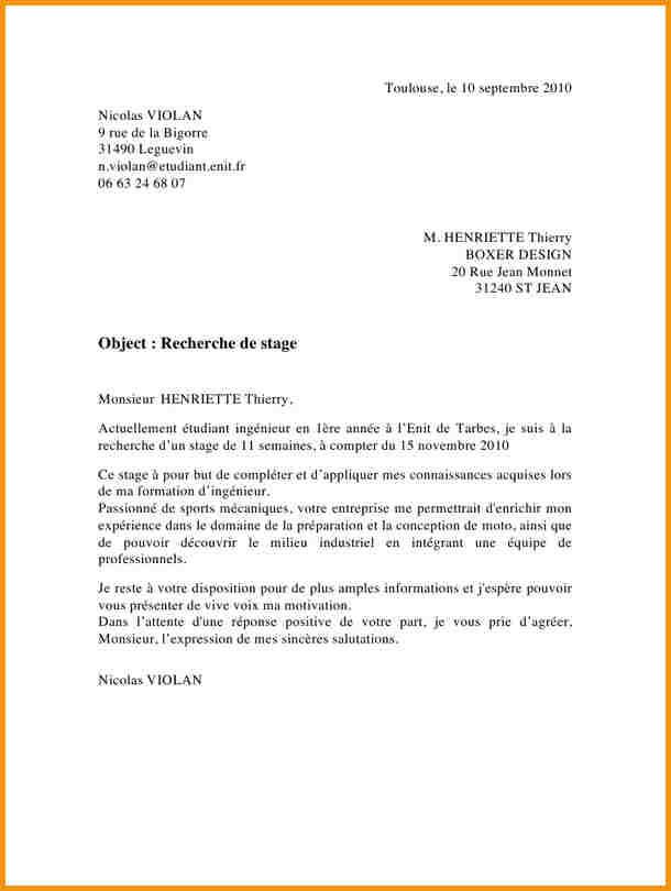 lettre de motivation ing u00e9nieur agronome