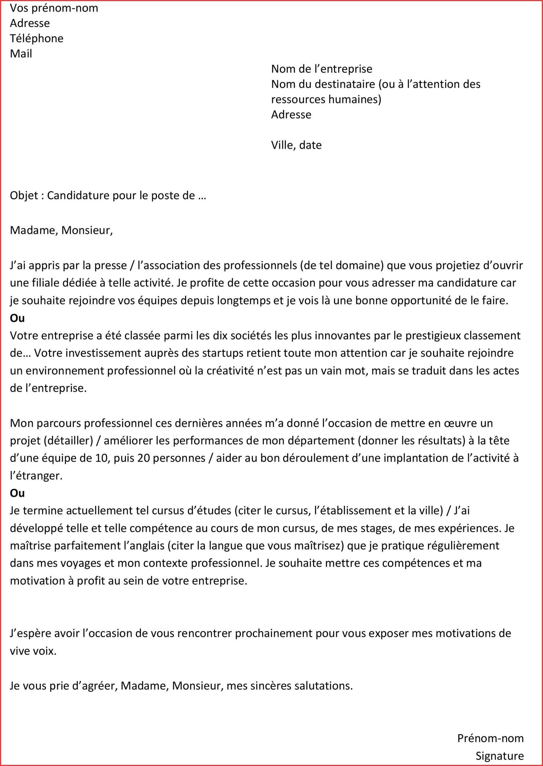 lettre de motivation pour infirmi u00e8re en sant u00e9 au travail