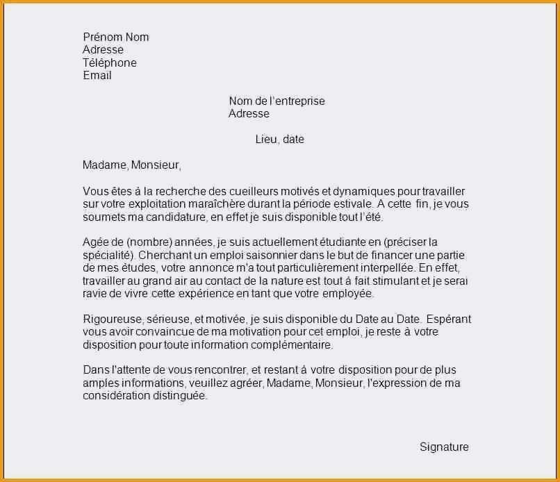 lettre de motivation pour mairie service technique