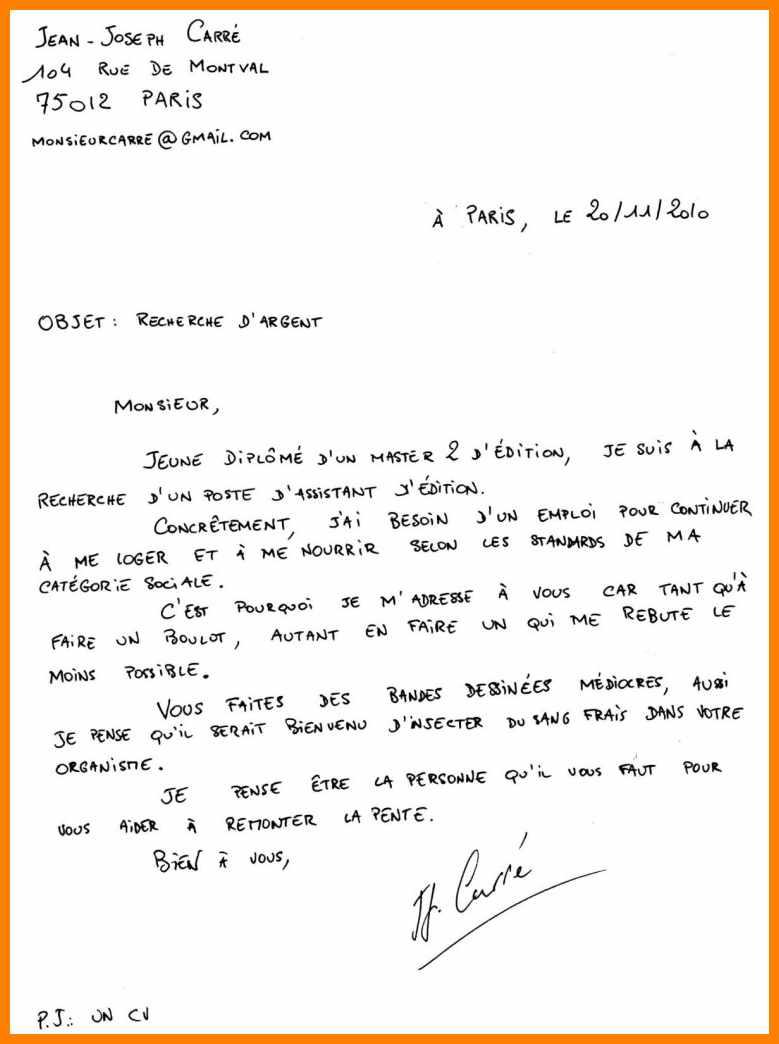 comment r u00e9diger une lettre de motivation manuscrite