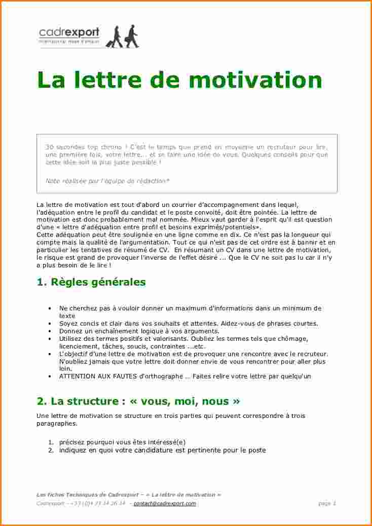 lettre de motivation association humanitaire gratuite