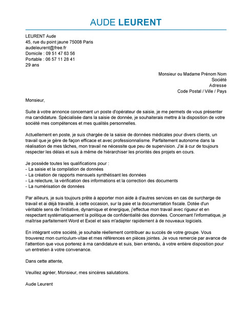 lettre de motivation archiviste d u00e9butant