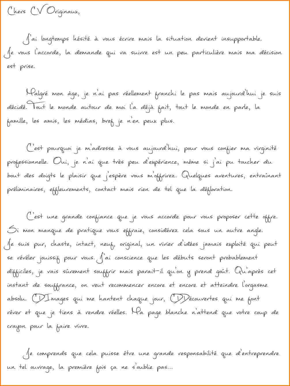 lettre de motivation pour une pmsmp