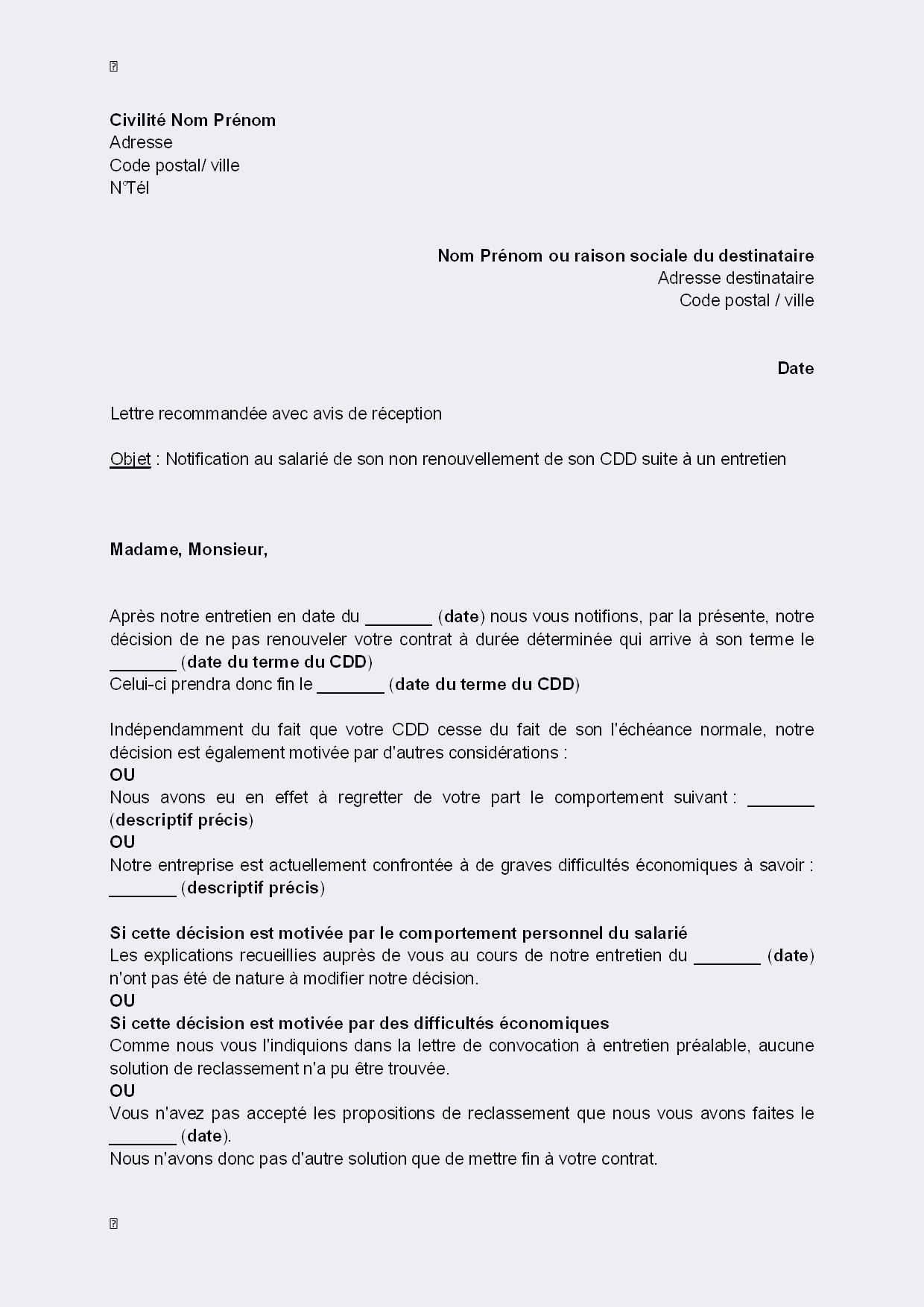 lettre de motivation pour reclassement professionnel