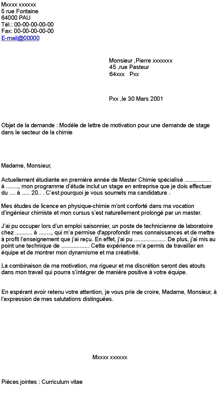 objet lettre de motivation  u00e9cole d u0026 39 ing u00e9nieur