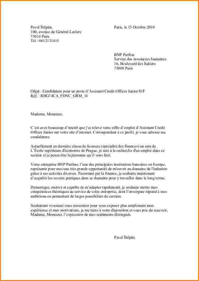 lettre de motivation job  u00e9tudiant hotesse de caisse