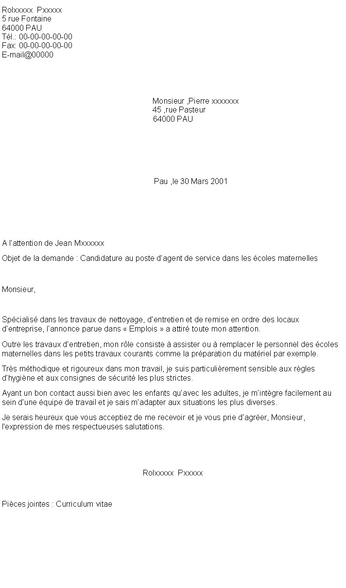 lettre de motivation agent de cr u00e8che