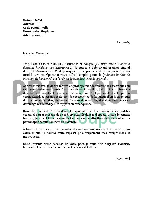 lettre de motivation pour plusieurs emploi