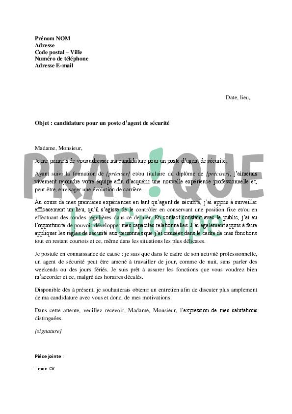 lettre de motivation agent d u0026 39 entretien sans experience gratuit