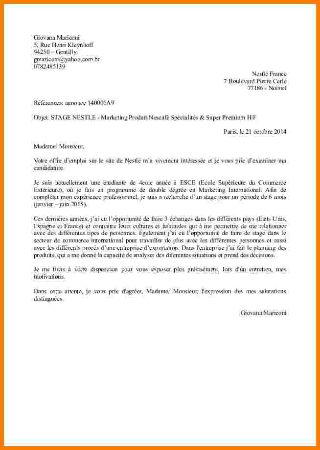lettre de motivation reprise d u0026 39  u00e9tudes licence pro