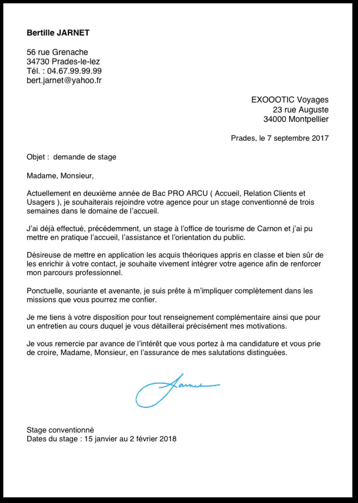 lettre de motivation pr u00e9 rempli