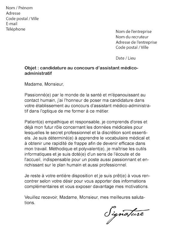 Lettre De Motivation Directeur Adjoint Medico Social Laboite Cv Fr