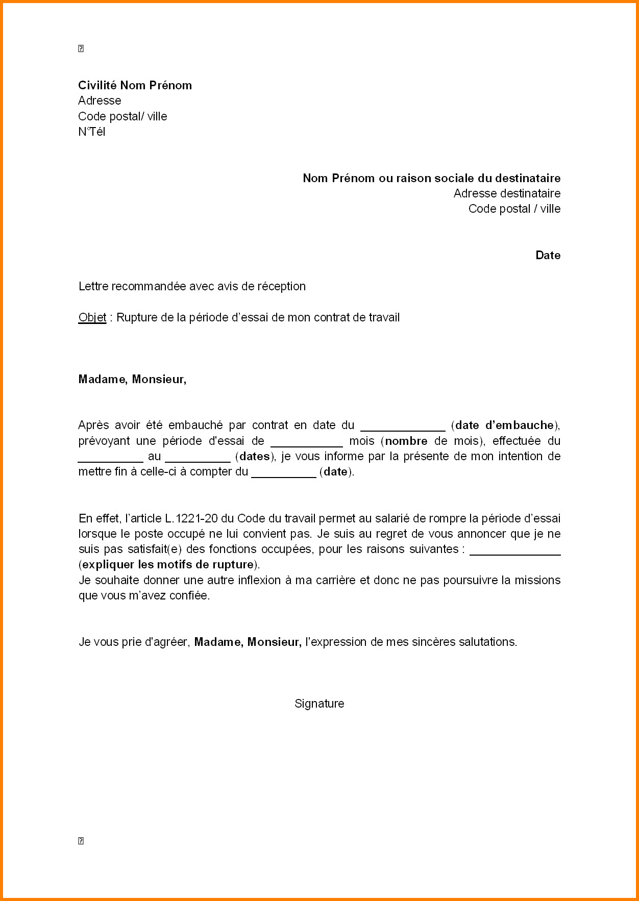 lettre de motivation personnel polyvalent en restauration