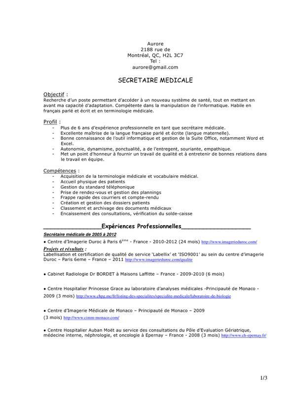 lettre de motivation secr u00e9taire laboratoire d u0026 39 analyse