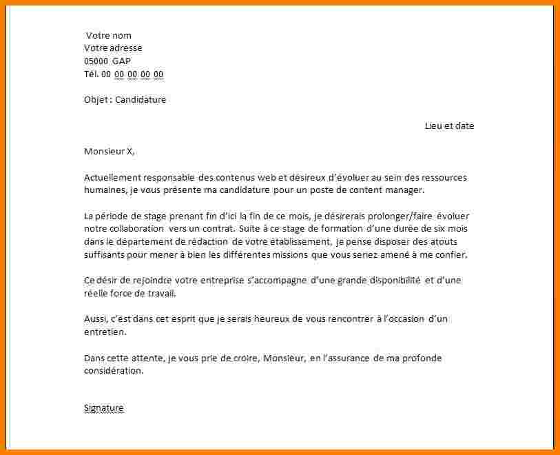 lettre de motivation stage journaliste