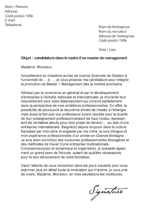 exemple lettre de motivation bts analyses de biologie m u00e9dicale