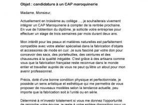 Lettre De Motivation Pour Stage Sportif Laboite Cv Fr