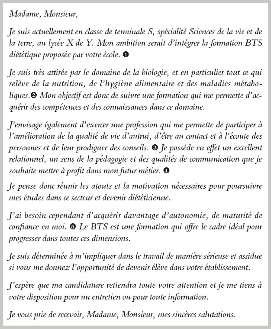 Lettre De Motivation Chef De Projet Informatique: Lettre De Motivation Licence Economie Gestion L1