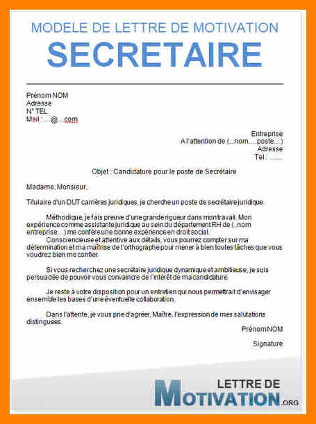 lettre de motivation secr u00e9taire m u00e9dicale hopital