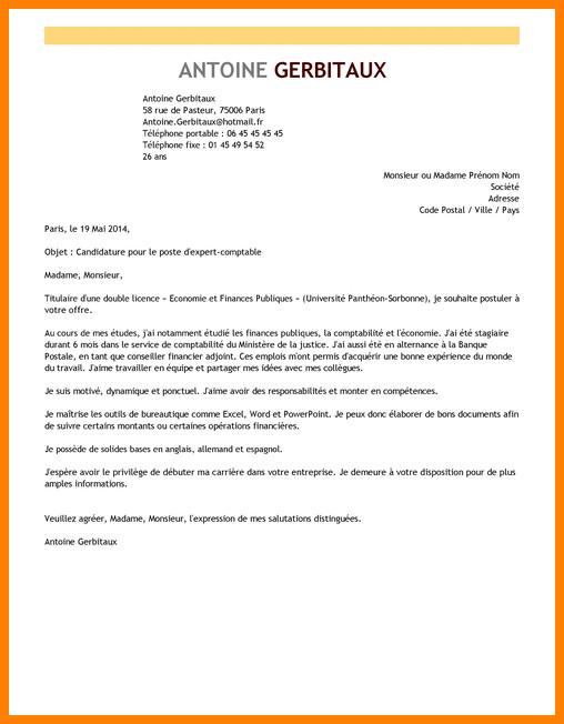lettre de motivation pour double licence