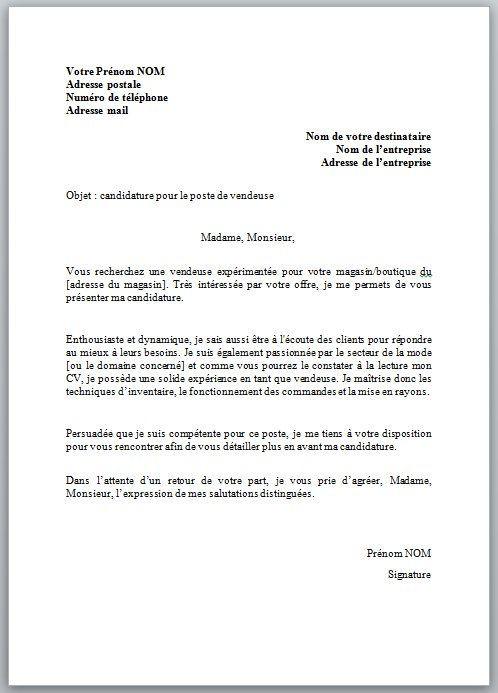 lettre de motivation ash candidature spontan u00e9e sans