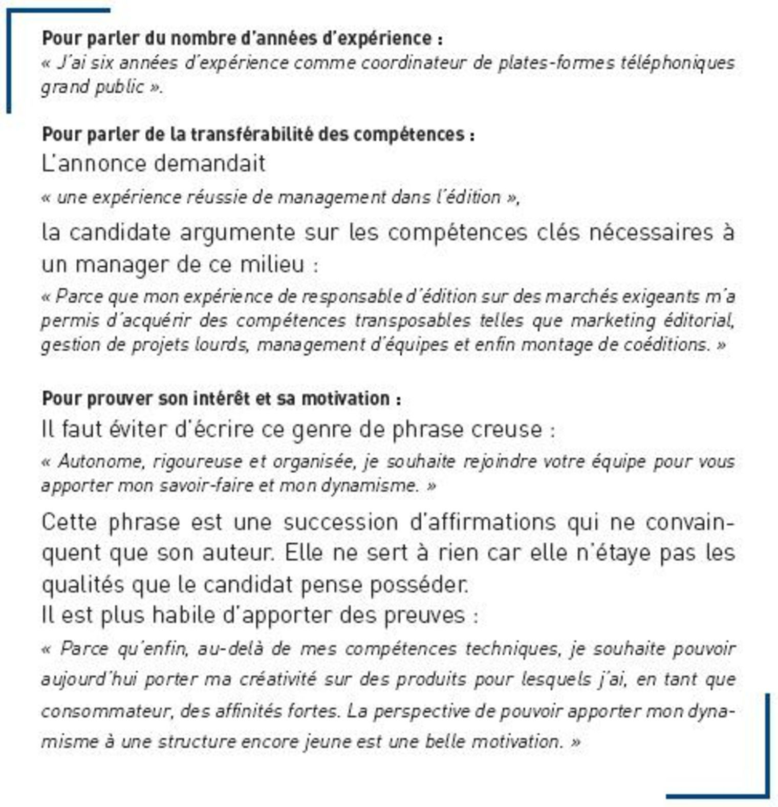 exemple introduction lettre de motivation