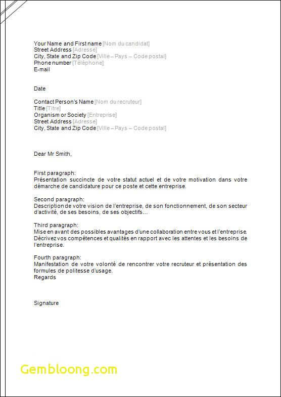 lettre de motivation en anglais pour un poste d u0026 39 enseignant