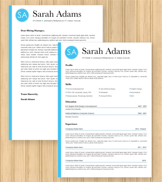 Lettre De Motivation Template: Format Lettre De Motivation Word