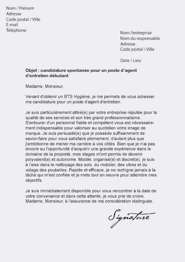 mod u00e8le lettre de motivation assistant administratif