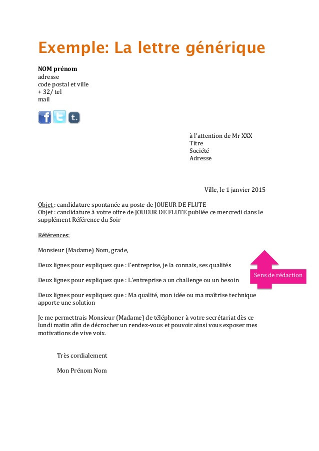 exemple lettre de motivation ash candidature spontan u00e9e