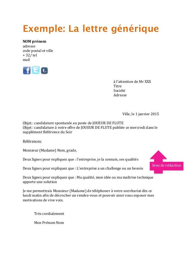 exemple lettre de motivation ash candidature spontan u00e9e