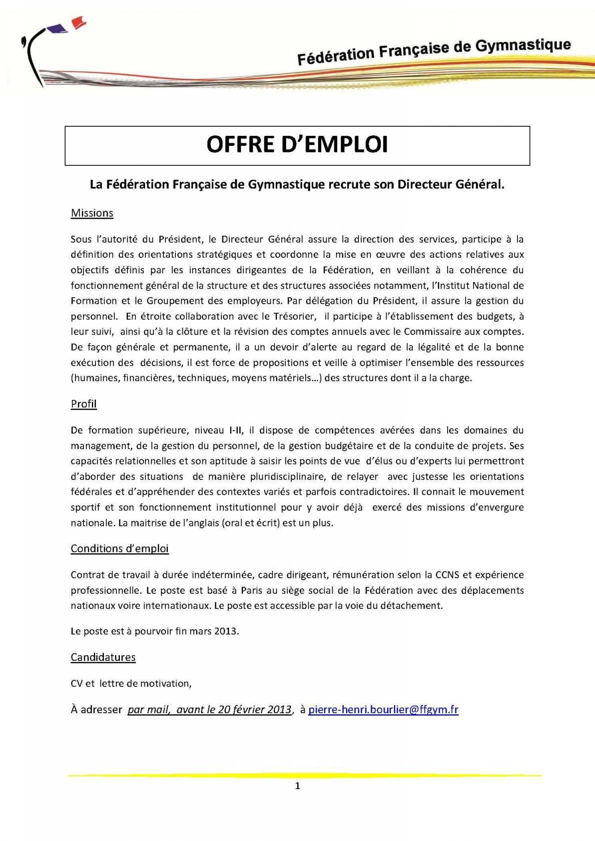 lettre de motivation candidature spontan u00e9e directeur