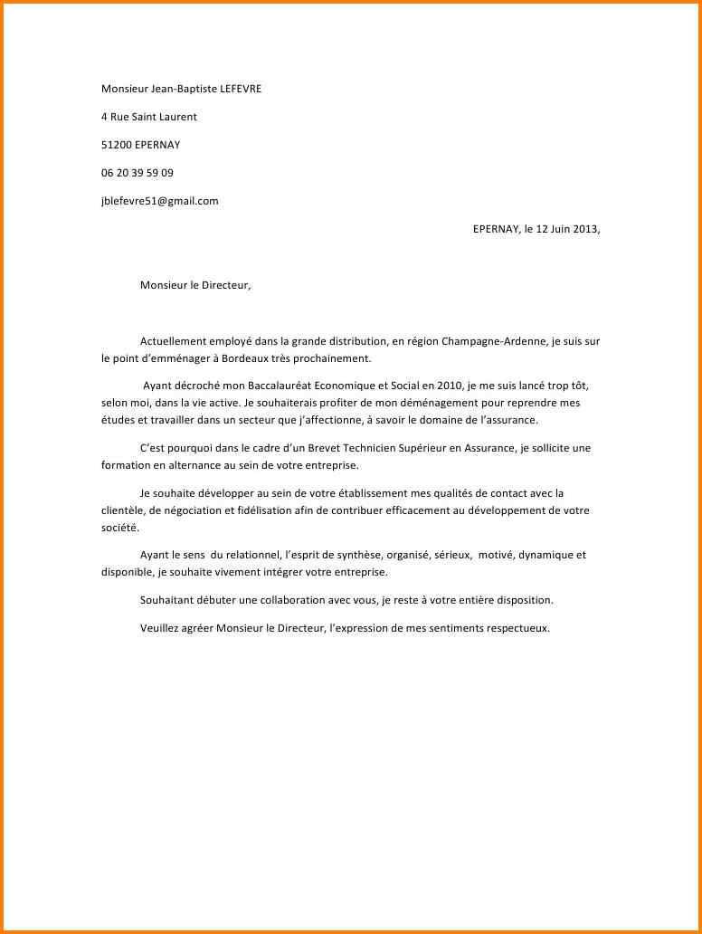 lettre de motivation pour distributeur de prospectus