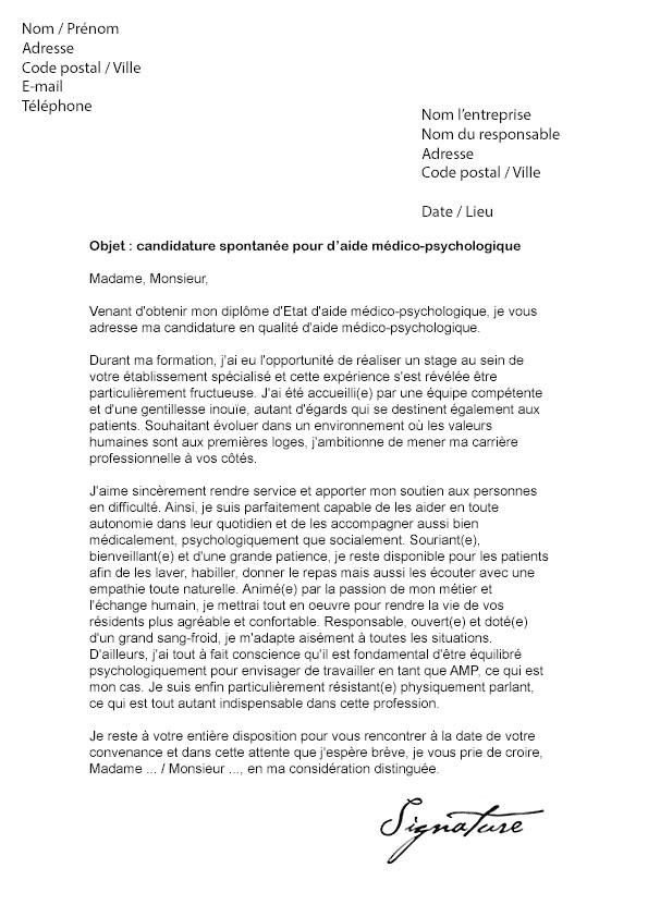 lettre de motivation pour ecole moniteur educateur