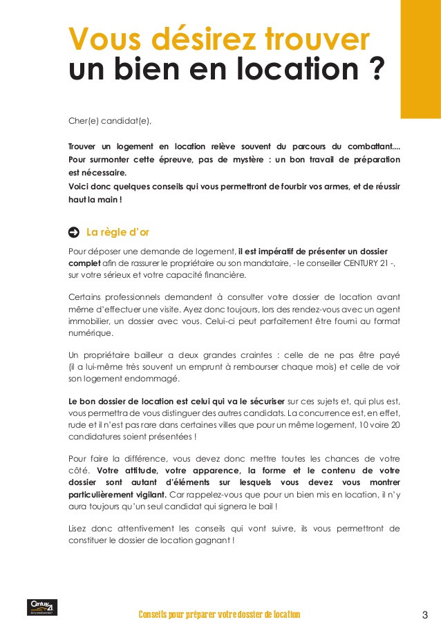 lettre de motivation century 21