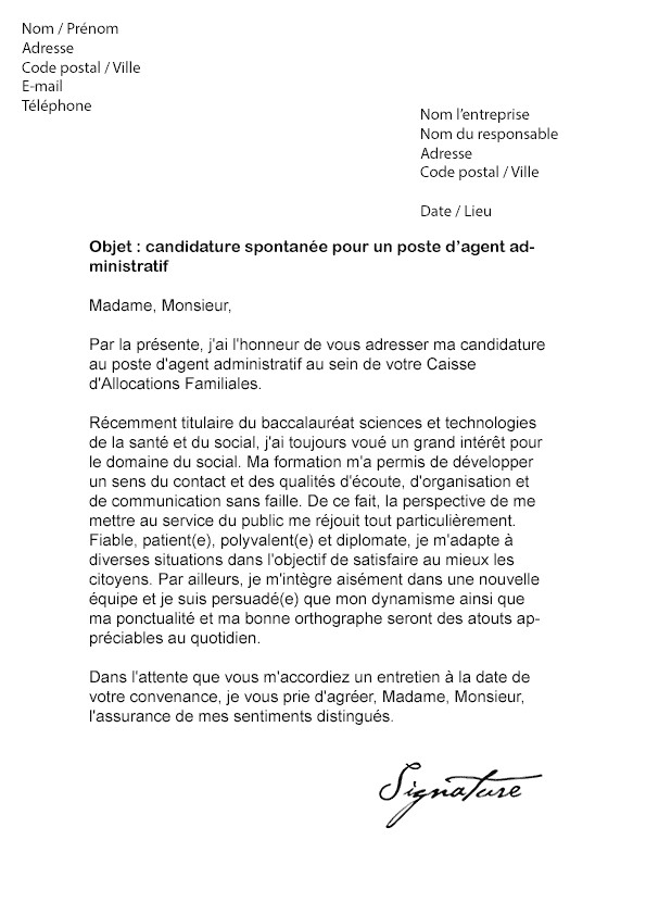 lettre de motivation libraire candidature spontan u00e9e