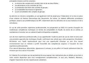 Lettre De Motivation Pour Formation Secretaire Comptable Laboite Cv Fr