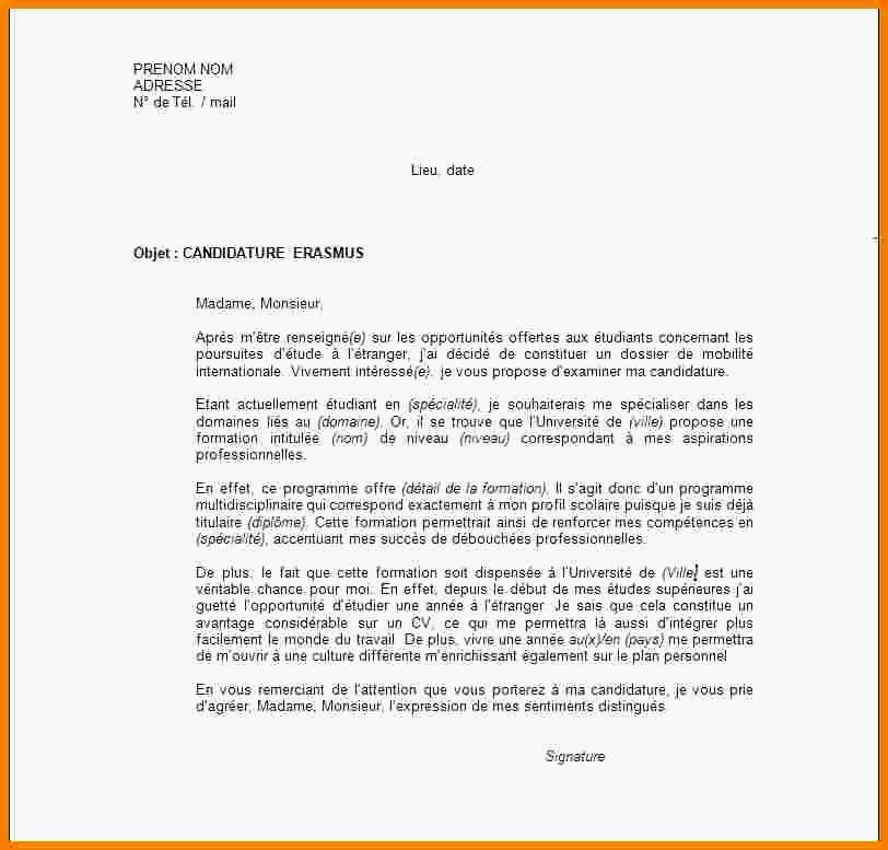 lettre de motivation pour formation anglais