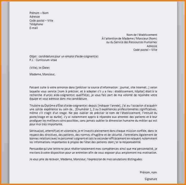 lettre de motivation candidature spontan u00e9e